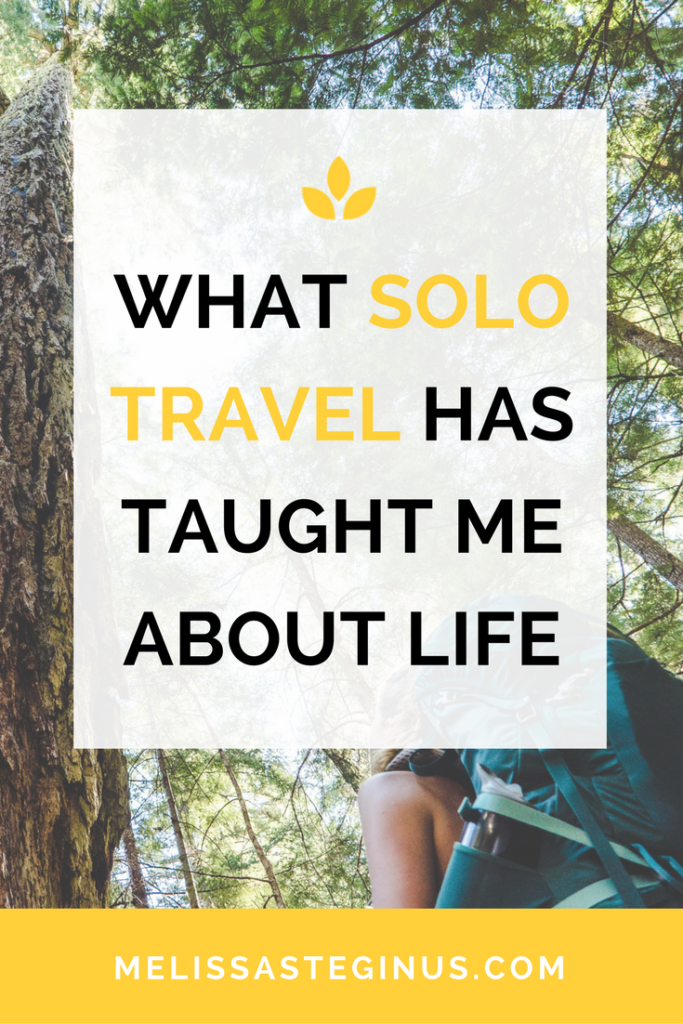 solo travel life lessons